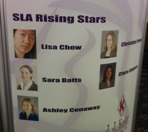 Banner of SLA rising stars