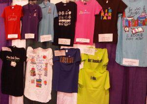 T shirt stall