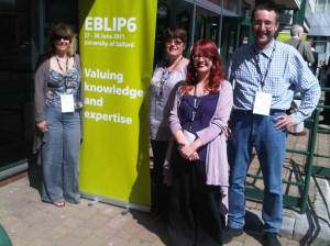 Sponsored delegates at EBLIP6