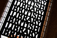 British Library gate