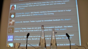 The DREaM project launch conference Twitter wall
