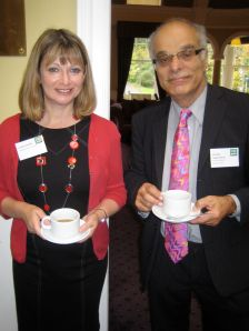 Dr Louise Cooke and Professor Charles Oppenheim