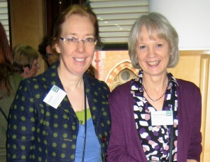 Hazel Hall and Christine Irving