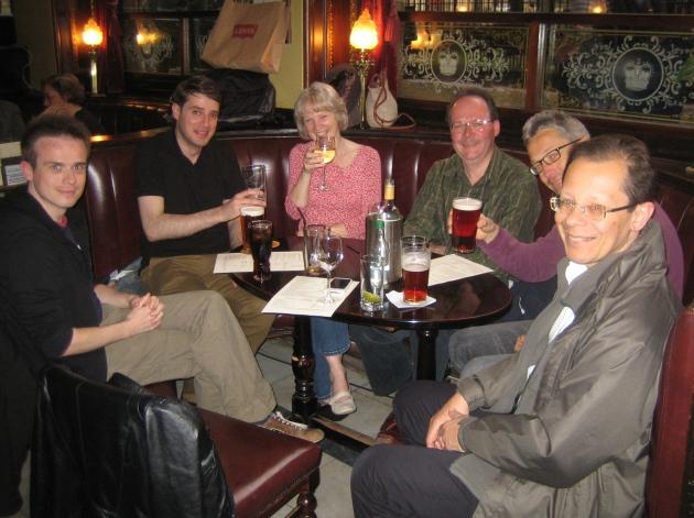 Networking at the Café Royal