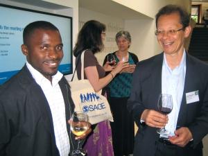 Andrew Wabwezi and David Haynes