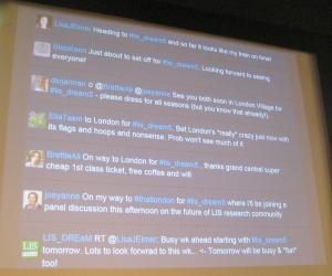Twitter wall
